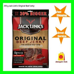 Details about New Size 310g Jack Link's Original Beef Jerky Made in New  Zealand Bulk Buy eBC