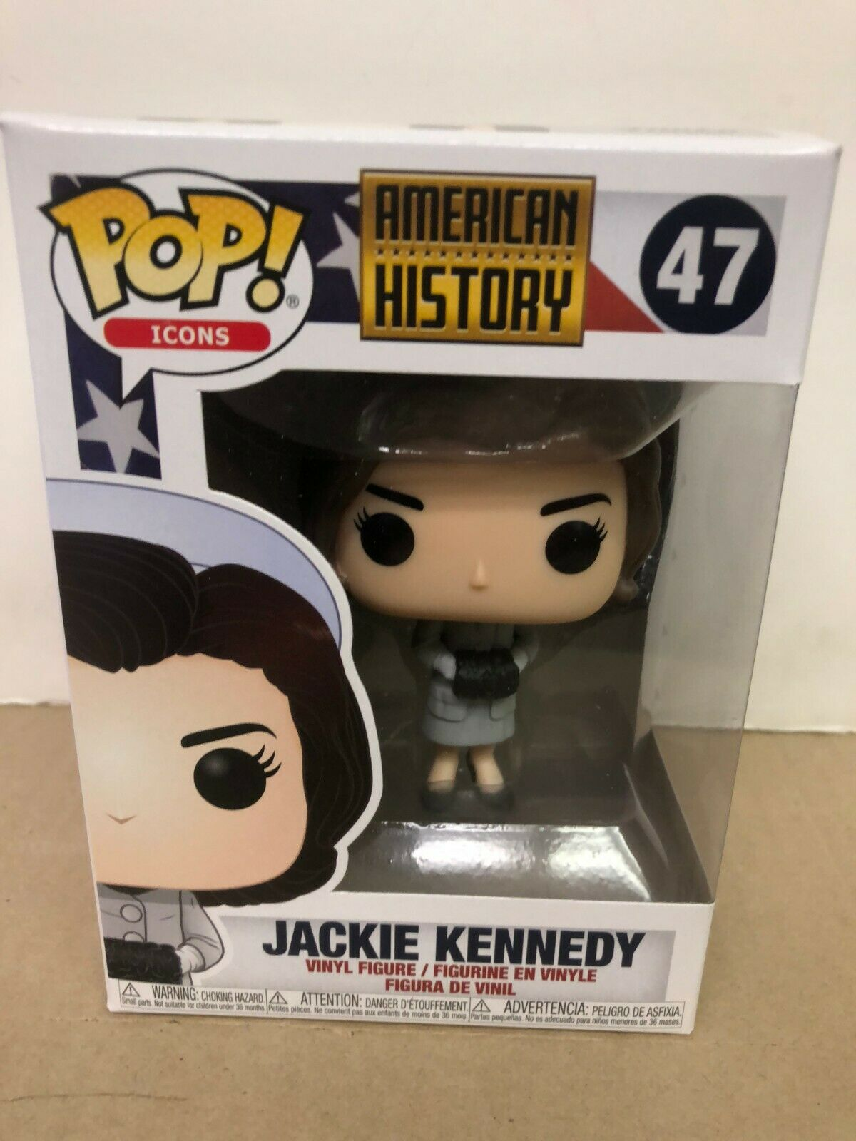 SET OF 2 Icons Vinyl Figures President John F. /& First Lady Jackie Funko POP