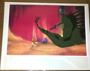 Dragon-039-s-Lair-1983-Animation-publicity-cel-Don-Bluth-arcade-Dirk-Singe