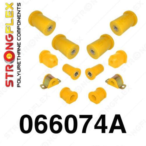 Seicento kit de silentbloc de suspension complète SPORT Fiat Cinquecento