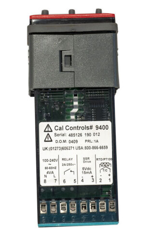 CAL CONTROLS 9400 Temperature Controller