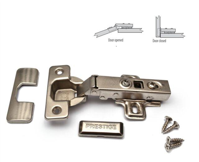 GTV PRESTIGE SOFT CLOSE 35mm KITCHEN CABINET DOOR HINGE PLATE U0026 SCREWS