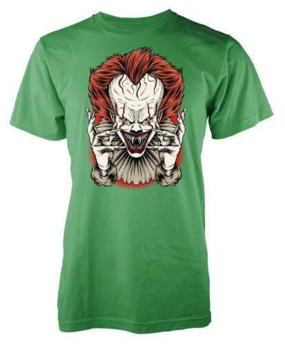 Pennywise IT Clown Scary Horror Kids T Shirt