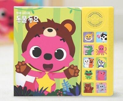 Animal Song Pinkfong Sound Book Koreanische Version Für Baby & Kinder Korea