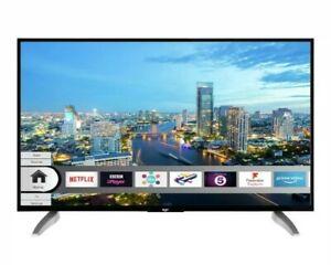 "Bush 43"" 4K Ultra HD LED Smart TV with Built in HDR - Black"