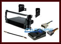 Car Stereo Radio Kit Dash Installation Trim Bezel W/ Interface Wiring Harness on sale