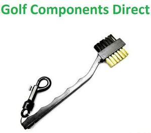 2-in-1-Plastic-Black-Golf-Club-Cleaning-Brush