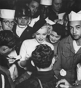 1 RARE 4x6 GalleryQuality PHOTO MARILYN MONROE MESSHALL BEAUTY IN BERET