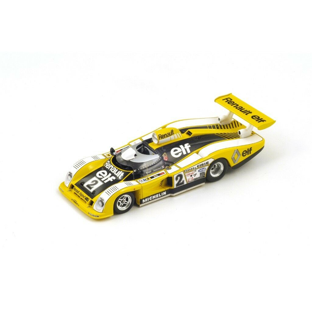 SPARK RENAULT-ALPINE A442 Winner Le Mans 1978 Pironi - Jaussaud 43LM78 1 43