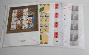 Grossbritannien-5-postfrische-Zusammendruck-Bogen-mit-gesuchten-Ausgaben