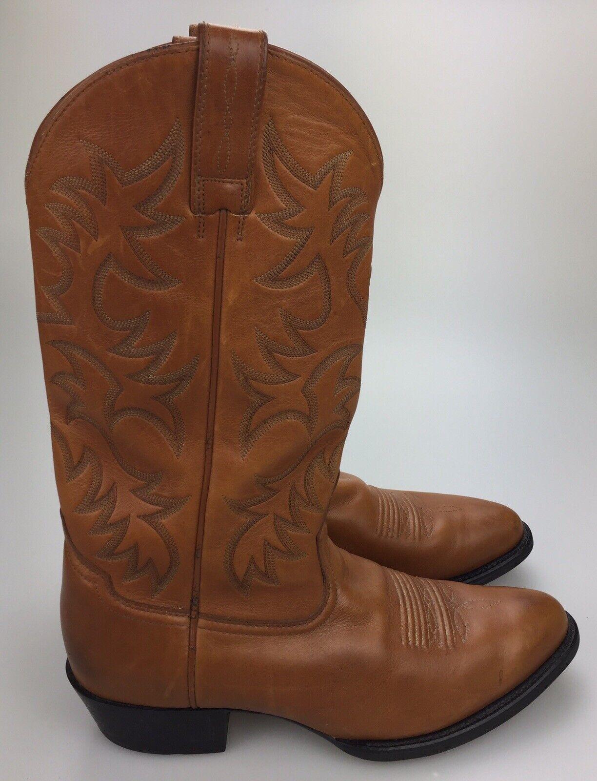Ariat 34721 Heritage STOCKhomme HOMME TAILLE 11 D Western en cuir beige bottes cowboy