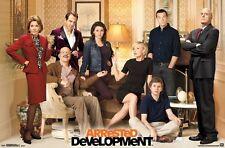 ARRESTED DEVELOPMENT ~ LIVING ROOM CAST 22x34 TV POSTER Jason Bateman Will Arnet