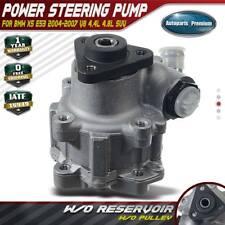 POWER STEERING PUMP 2007 2008 BMW X5 4.8L w// ACTIVE DRIVE  Stk# J622106