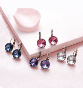 Baby-Mini-Bella-Clear-Crystal-Earrings-Made-with-SWAROVSKI-Crystals