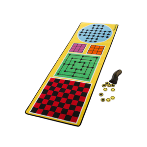 Melissa & Doug Activity Rug 4-in-1 Games