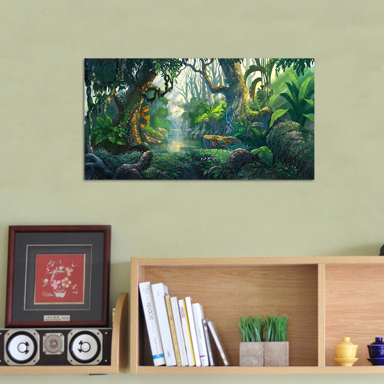 3D Karikatur Tropischen Wald 85 Fototapeten Wandbild BildTapete AJSTORE DE Lemon