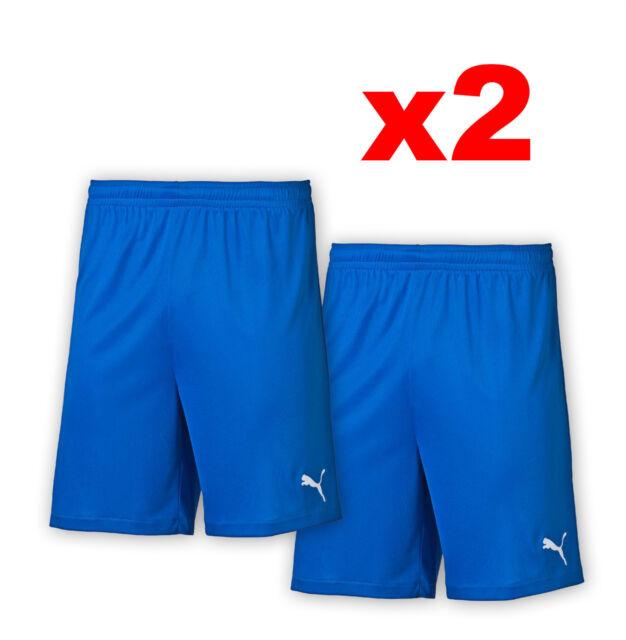 Details about NEW PUMA Velize YM YL YXL Boys Kids Soccer Football Shorts Blue Gym Training