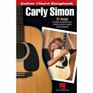 Carly-Simon-Guitar-Chord-Songbook-Guitar-Chord-Songbooks-by-Carly-Simon-NEW