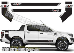 Details Zu Ford F 150 Racing Stripes 003 Decals Stickers Graphics Offroad 4x4 Ranger