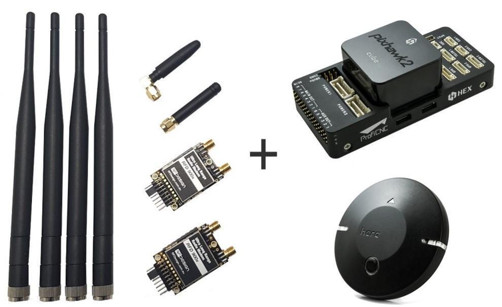COMBO  Pixhawk 2.1 w  Här& RD900 Telemetriuppsättning