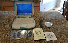 Apple iBook G3 Clamshell Blueberry UPGRADED W/Adobe Photoshop & Microsoft Office