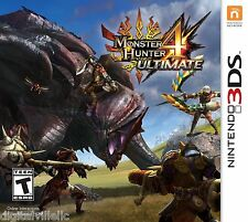 Monster Hunter 4 Ultimate Nintendo 3DS Brand New Factory Sealed