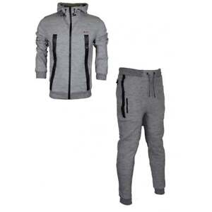 Born-Rich-Smalling-Redknapp-Hooded-Zip-Up-Grey-Tracksuit