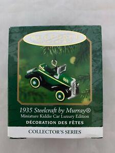2000-Hallmark-Keepsake-Miniature-Ornament-1935-Steelcraft-by-Murray-Kiddie-Car
