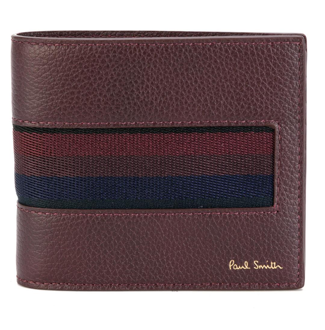 Paul Smith Men's Wallet - BNWT Mainline Brown City Webbing Wallet RRP: