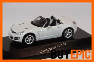 Schuco-Opel-GT-Roadster-Concept-white-1-43-weiss-Modellauto-RAR-limitiert