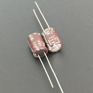 20pcs 22uf 100v NCC Radial Electrolytic Capacitors 8x12mm LXV 100v22uf
