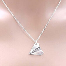 Harry Style Paper Airplane Pendant Necklace Chain Jewelry Collar Choker Necklace
