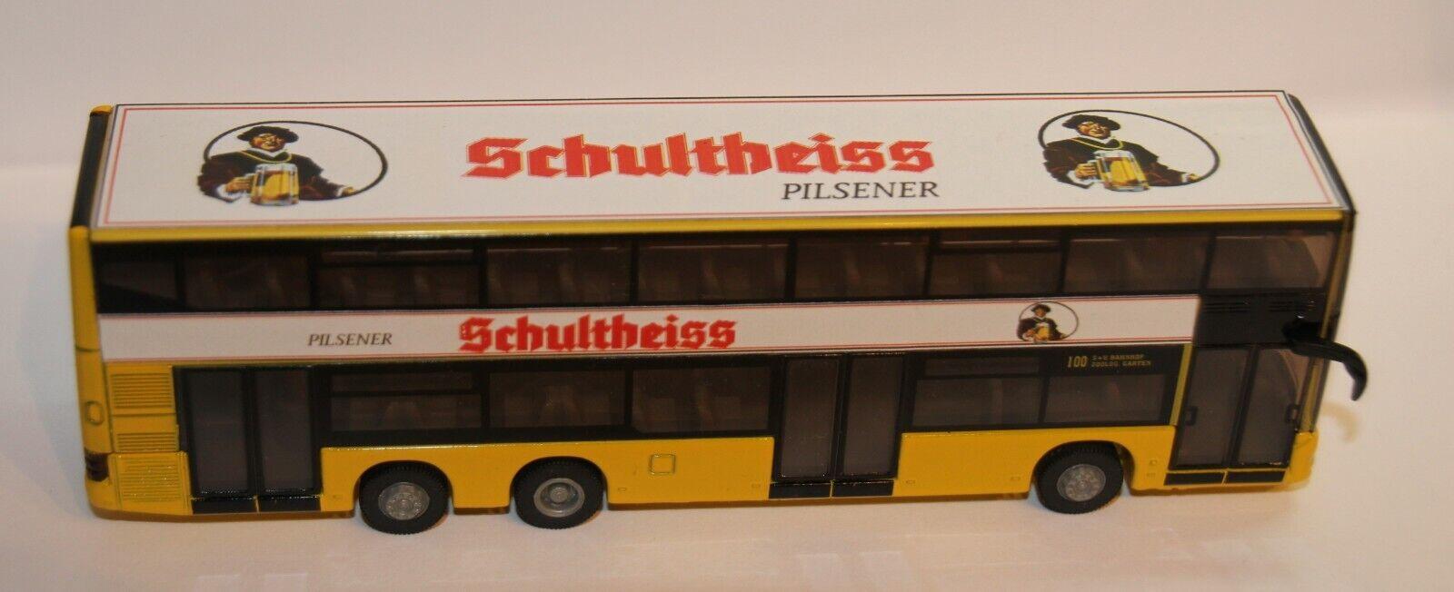 BVG autobús con Schultheiss publicidad m 1 87