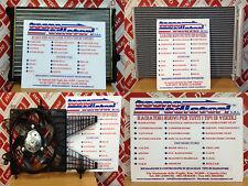 RADIATORE MOTORE LANCIA MUSA 1.3 MULTIJET 70CV '04 IN POI MODULO COMPLETO