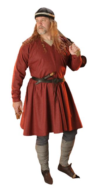 Medieval Celtic Viking Tunic Full Sleeves renaissance shirt SCA Larp .,
