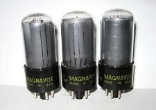 3 Magnavox 6V6GT Power Beam Tetrode Tubes Matching Date Codes Tested Strong