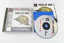 Sony PS1 Playstation Hogs Of War PAL UK Game