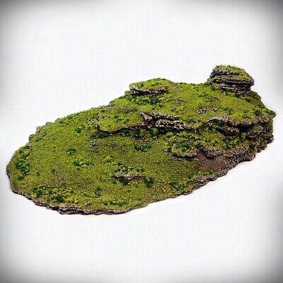 Tabletop Wargaming 40K D/&D 3D printed scatter terrain Triple Blast Crater A
