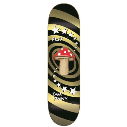 Flip Herren Skateboard Deck Mushroom Gold