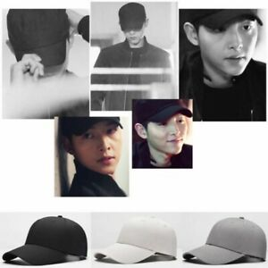 Fashion All-season Men's Caps Solid Color Hip-hop Cap Adjustable Baseball Caps