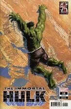 Immortal Hulk #1 a 1st Print Alex Ross VF /nm
