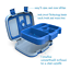 miniature 3 - Bentgo-Kids-Childrens-Lunch-Box-Bento-Styled-Lunch-Solution-Offers-Durable-L