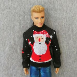 """Handmade doll clothes Sweater for  12/""""  ken dolls"""