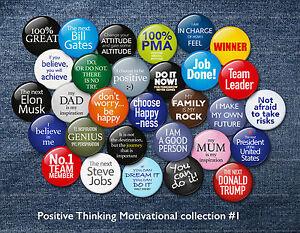 Positivity Badge 38mm New Designs