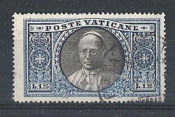 1933 Vaticano Usato Medaglioni 1,25 Lire - Rr8385 Prix Le Moins Cher De Notre Site