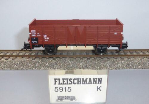 Fleischmann 5915; Hochbordwagen 0m 12 DB unbespielt in OVP