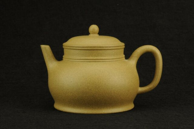 authentic Chinese Yixing zisha yiyue teapot ball filter duanni 260 cc