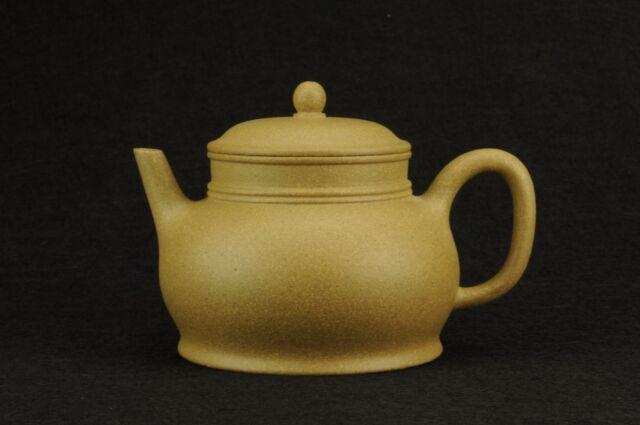 authentic Chinese Yixing zisha yiyue teapot ball filter duanni 260 cc