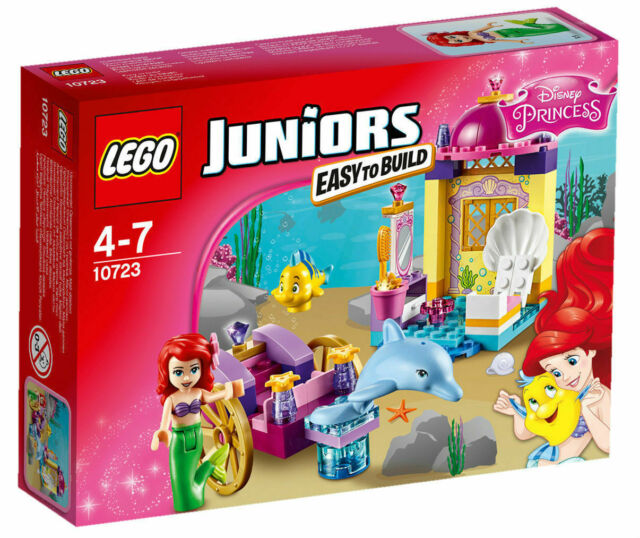 LEGO JUNIORS 1047 EASY TO BUILD ARIELS DOLPHIN DRAWN CARRIAGE BRAND NEW