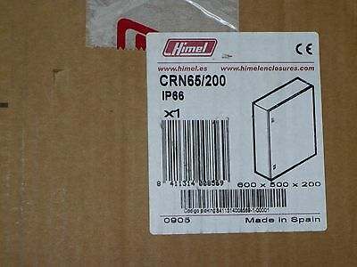 Himel Crn65 200 Electrical Enclosure Slight Dings In